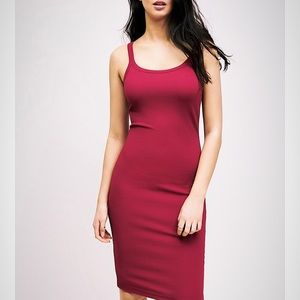 Dynamite Skylar scoop neck bodycon dress